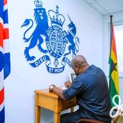 John Mahama Storms British High Commission To Sign Book Of Condolence In Honor Of Prince Philip.