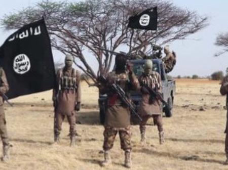 Breaking : Terriorists Storm Damasak in Borno, Burn Down United Nations' Facilities