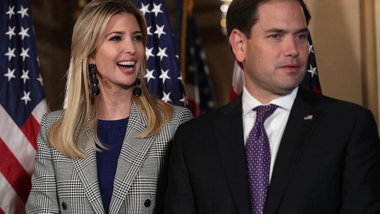 Trump Allies Reportedly Want Ivanka to Challenge Rubio for Florida Senate Seat
