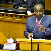 Minister Of Finance Tito Mboweni Budget Speech.