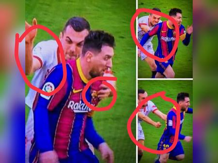 Joan Jordan did everything possible to have a piece of Messi's shirt - Man reacts