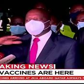 Covid-19 Vaccines Finally Arrives In Kenya