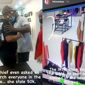 VP Osinbajo's Daughter Shares How A Lady Customer Stylishly Stole 50k In Her Store