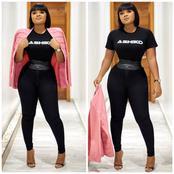 Reactions as Bimbo Ademoye Shares Stunning Photos of Herself