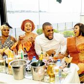 Photos of Alex Ekubo with Funke Akindele, Chioma Akpotha, Uche Ogbodo and other actors