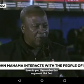What John Mahama Promised This Crowd At Nelerigu When He Met Them This Dawn