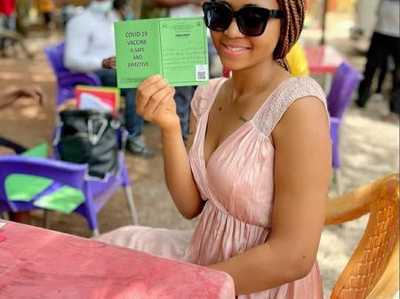 Check Out What Regina Daniels Said About COVID-19 Vaccine She Took