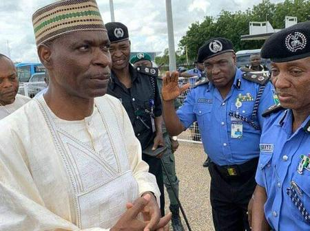 Checkout Photos of Former IGP Adamu Without His Uniform