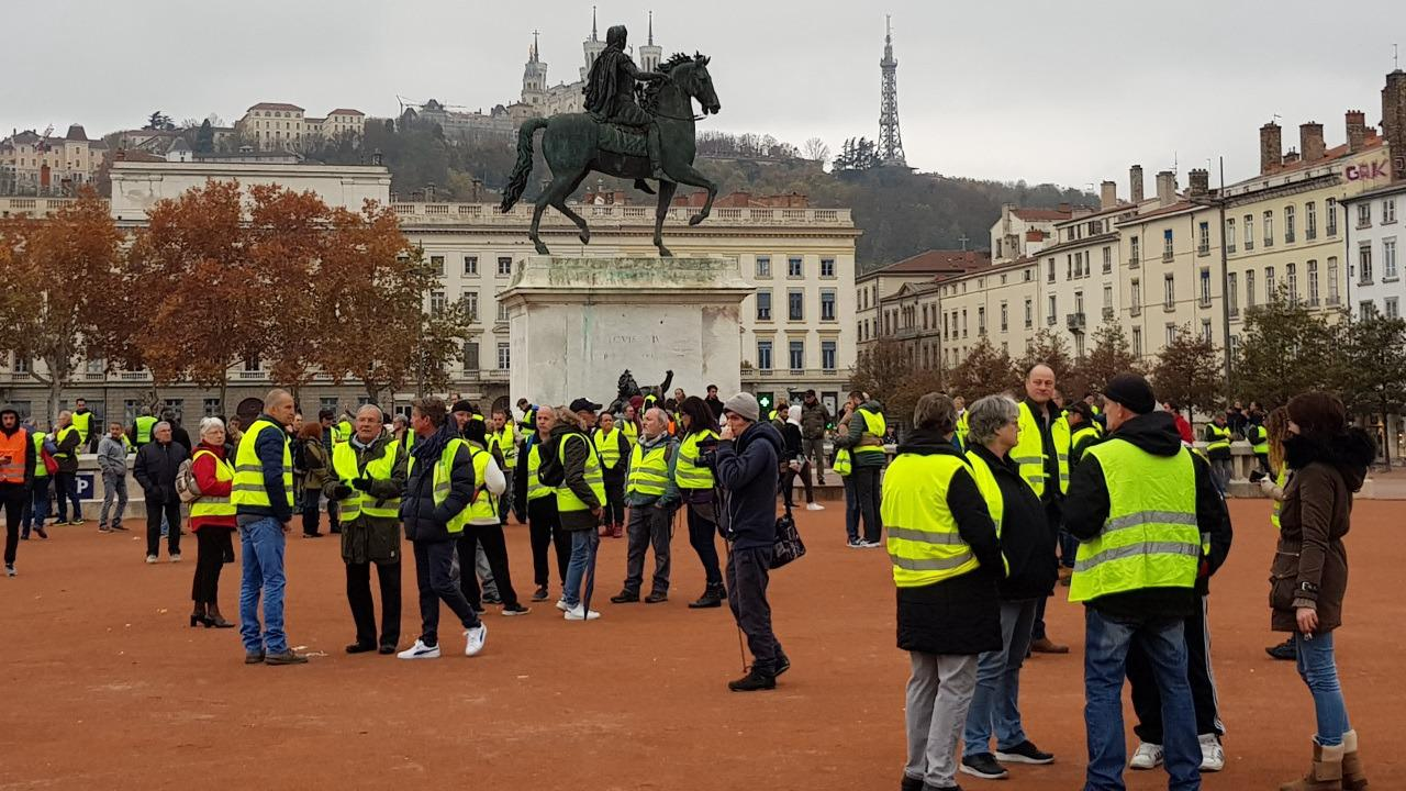 Les Gilets Jaunes sont de retour à Lyon ce samedi