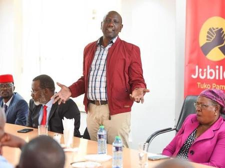 How Ruto Allegedly 'Sneaked' Into Jubilee Headquarters on Thursday