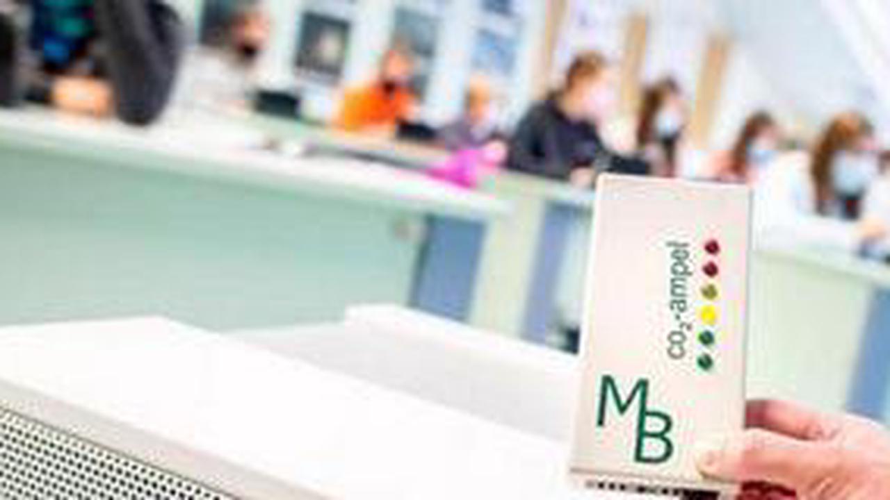 Für 760.000 Euro: Stadt Hannover will Klassenzimmer mit CO2-Ampel ausstatten