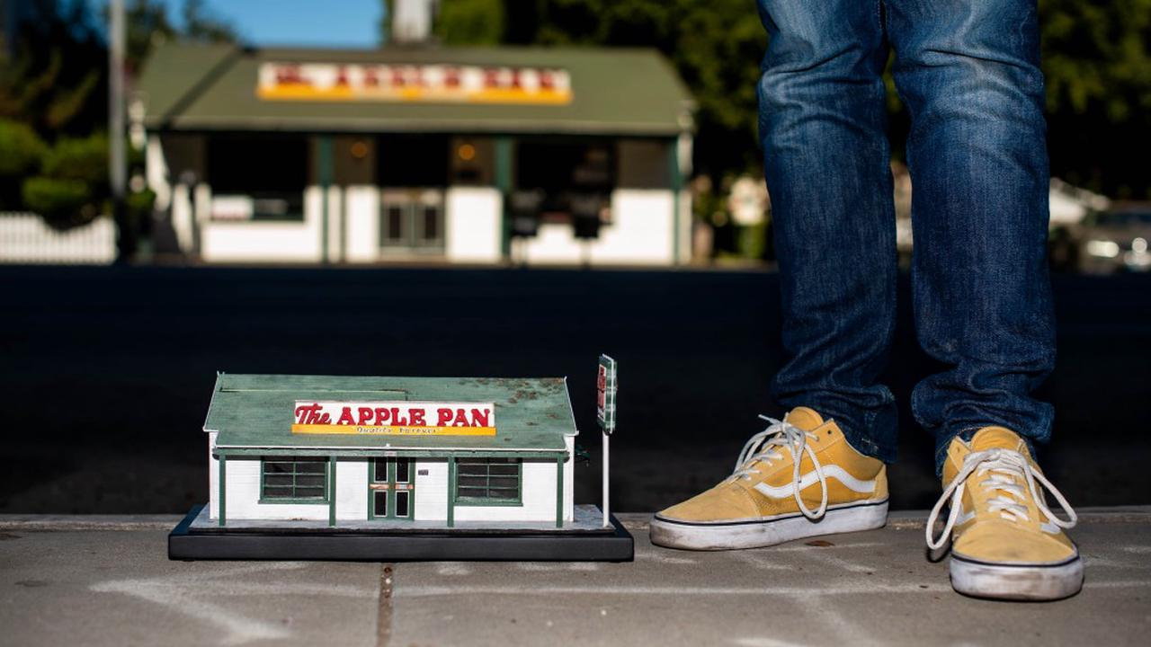 How this artist is preserving L.A. landmarks by building miniature versions of them