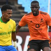 Mamelodi Sundowns leads 1-0 against Orlando Pirates as Peter Shalulile scored.(Opinion)