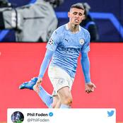 Foden sends a message to Mbappe after they qualified for the Semi final.