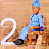Actress Bimbo Okeowo celebrates her friend's son birthday