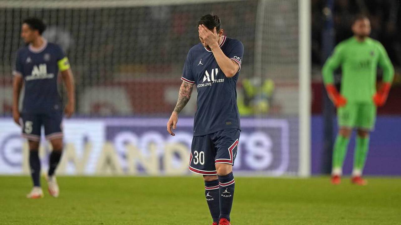 PSG : Messi forfait pour le déplacement à Metz à cause d'un genou douloureux