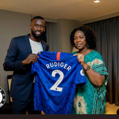 Story of the time Rudiger donated things to market traders in Sierra Leone in July