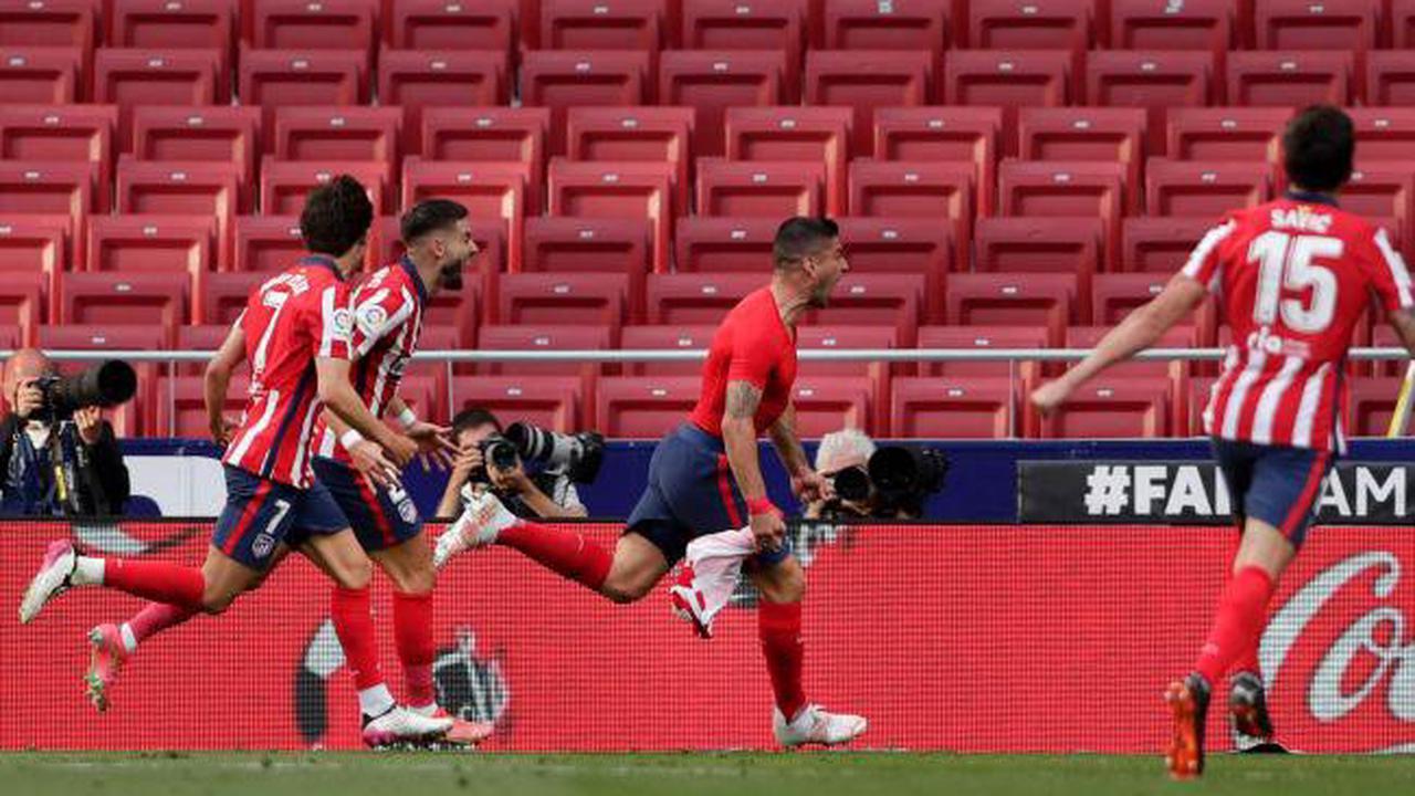 Late Luis Suarez winner leaves Atletico Madrid on verge of LaLiga title