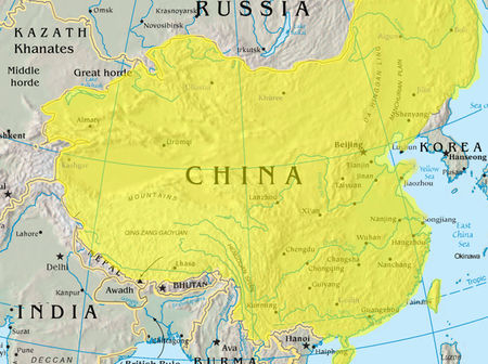 During the colonial period, why didn't China and Russia partake in colonizing weaker nations?