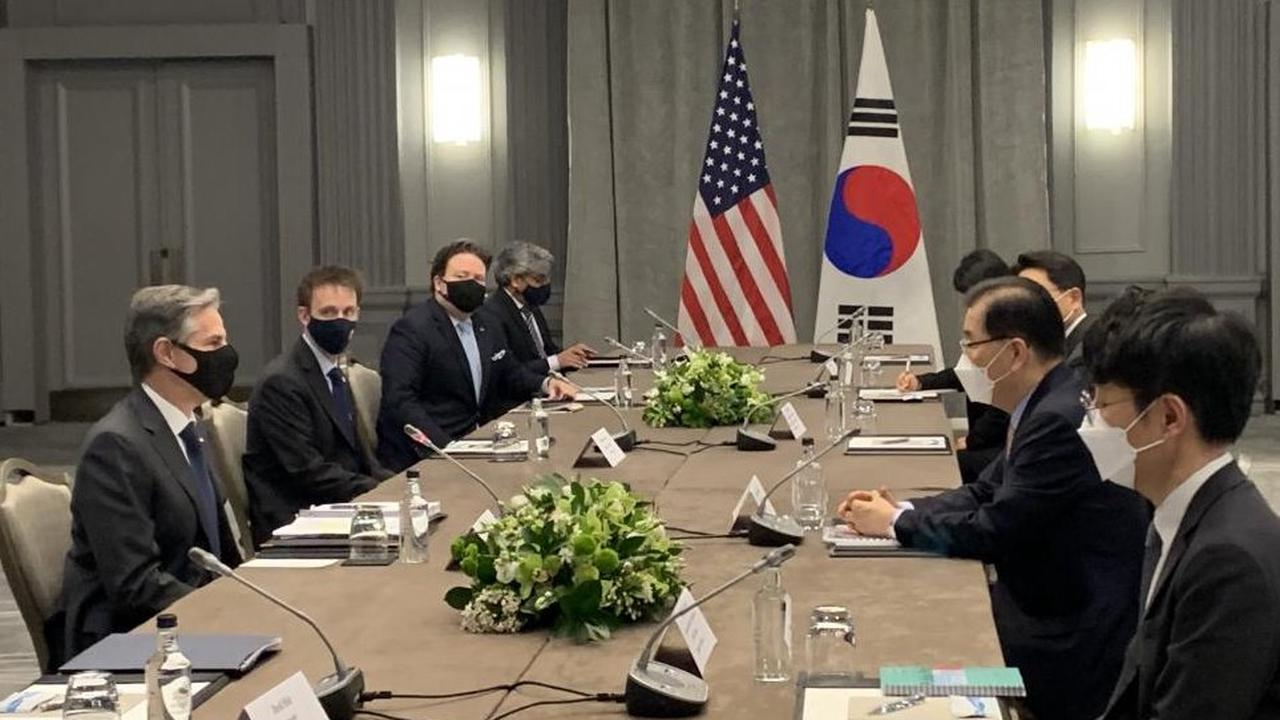 Blinken urges North Korea to choose diplomacy at G7 summit in London