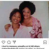 Yoruba Actress, Ronke Oshodi Oke Mourns Her Late Daughter Who Passed Away 10 Years Ago