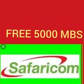 How to Get 5000mbs From Safaricom Line