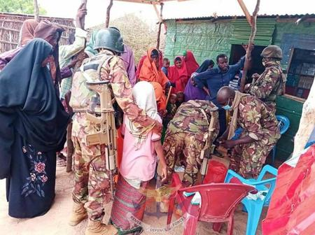KDF Military Men Lead Successful Humanitarian Missions Aimed At Boosting Peace Efforts In Somalia