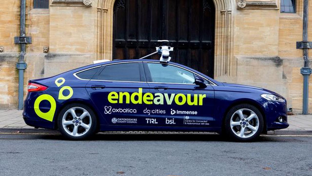 Driverless car trial in Birmingham