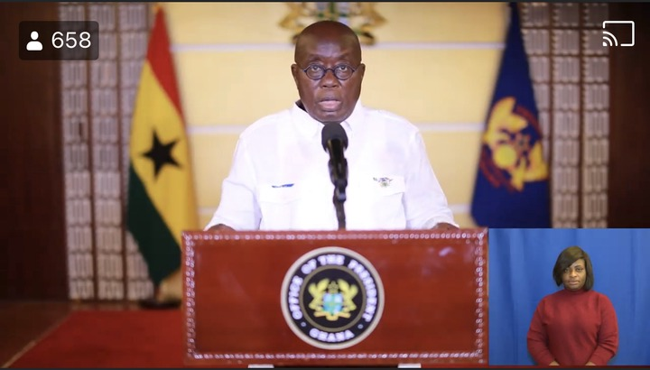 """85b7a3e3d17042772d7d1c5fa5cf6974?quality=uhq&resize=720 - """"We can't never be ungrateful"""": Ghanaians React To President Akufo-Addo's Nation Address Positively"""