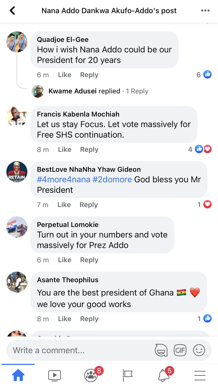 """85c6445eec299751e46d63371a13c7b4?quality=uhq&resize=720 - """"We can't never be ungrateful"""": Ghanaians React To President Akufo-Addo's Nation Address Positively"""