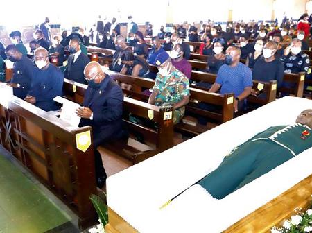 Tears flow as Professor Benneh finally laid to rest.