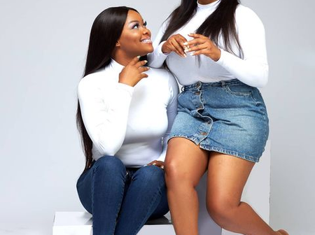 Actress, Kehinde Bakonle Shares Photos With Twin Sister As They Celebrate Their 36th Birthday Today