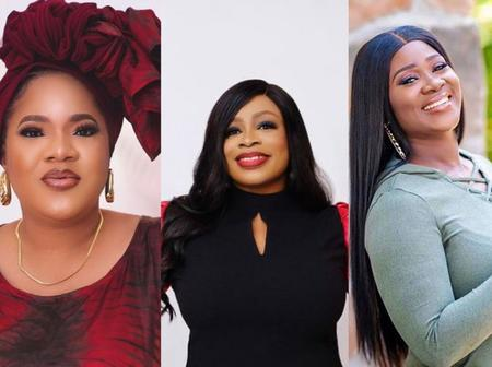 """I'm Jealous"" – Toyin Abraham Fumes After Mercy Johnson Celebrated Sinach On Her Birthday"