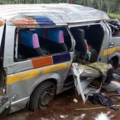 Just In : Four People Escape Death in A Tragic Accident
