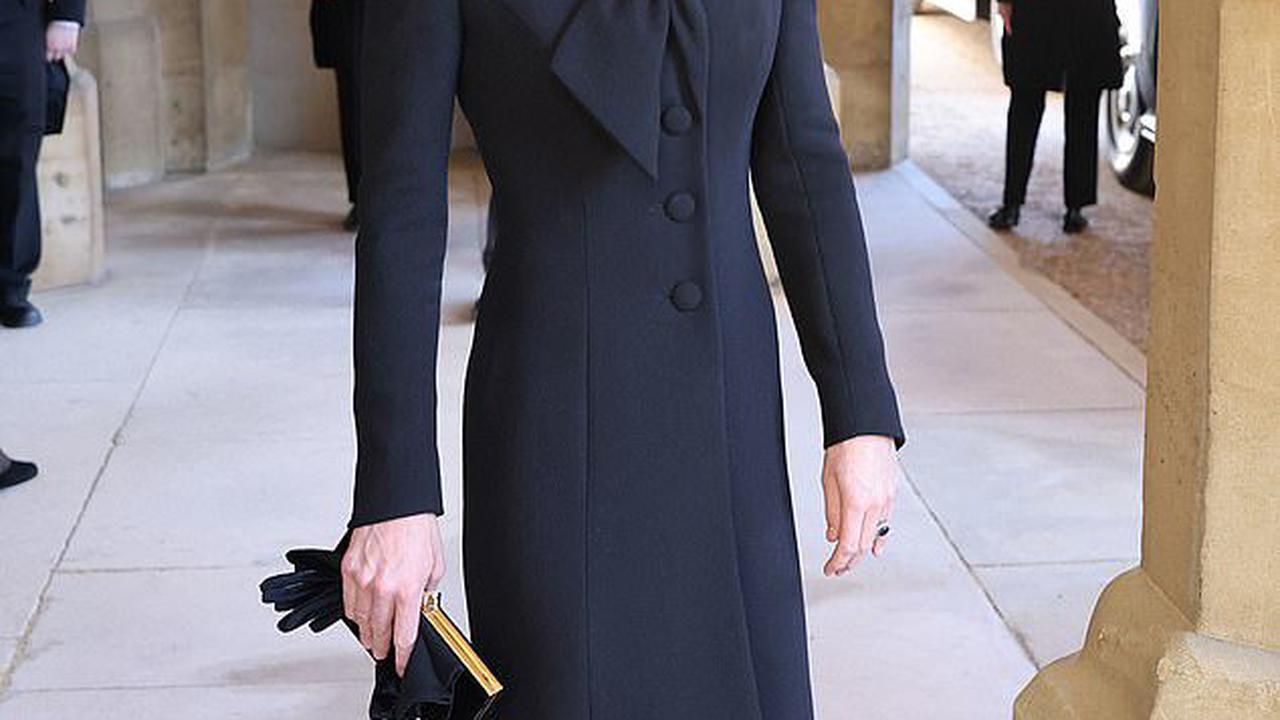Kate Middleton is poised to step up in the family: Duchess of Cambridge was dignified and composed as she arrived at the castle alone and chose an outfit that was 'elegant but not overstated,' fashion experts reveal