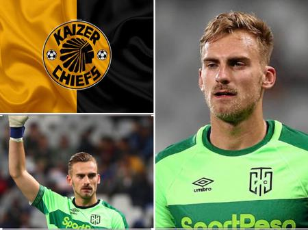 Kaizer Chiefs target Cape Town City goalkeeper Peter Leeuwenburgh whose set for shock exit