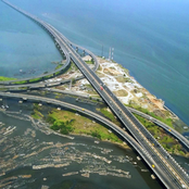 See The Latest Pictures Of Ongoing Repairs Of Third Mainland Bridge In Lagos