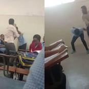 A Student Again? A Teacher is Nursing Injuries After He Was Attacked By a Rogue Student - Video
