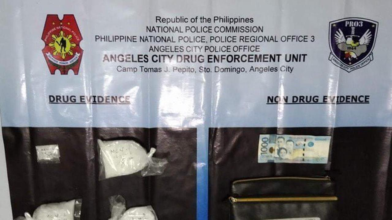 Angeles City cops seize P1.7M 'shabu' from 5 suspects