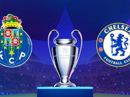 FC Porto versus Chelsea