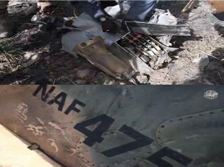 After wreckage of NAF Alpha Jet 475 was found in Borno, see what troops discovered