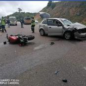 Accident on the R71 route claims a life of another Motorbiker