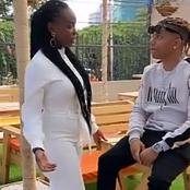 Maria Of Citizen TV Show Spotted Catching A Moment With Master Piece