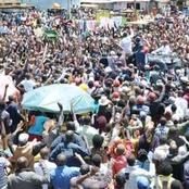 See the Warm Reception Ruto Received in his Home County