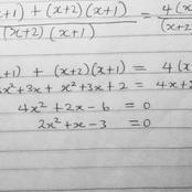 WAEC Mathematics Revision; Solution to Quadratic Equations