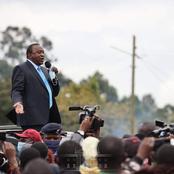 Kenyans Compare The Crowd Uhuru Had in Kisumu vs in Nyeri Today