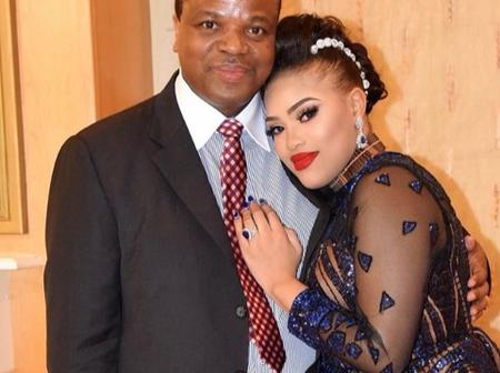 Swaziland king's 7th young wife love luxury