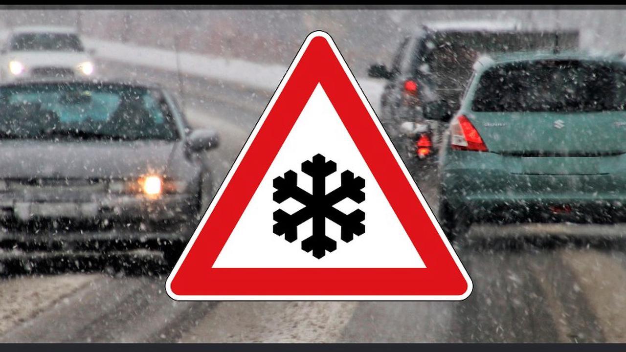 Lorraine: difficile de rouler à cause de la neige
