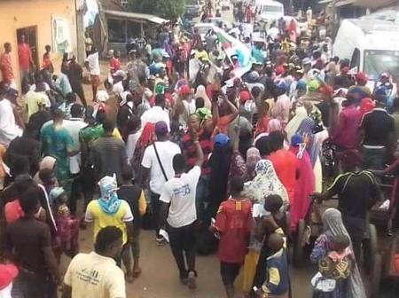 Edo Decides: APC Holds Road Show At Obaseki's Ward