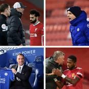 Who will End Up in the Top 4, Man Utd, Chelsea or Leicester? Here are their Next 5 EPL Fixtures